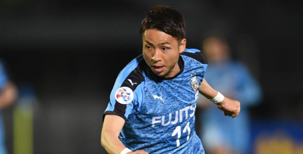 川崎前锋攻擊手小林悠今場盼達成個人聯賽百球成就。