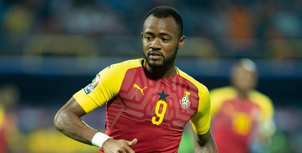 加納前锋乔丹·阿尤已連續3屆非國盃取得进球進賬。